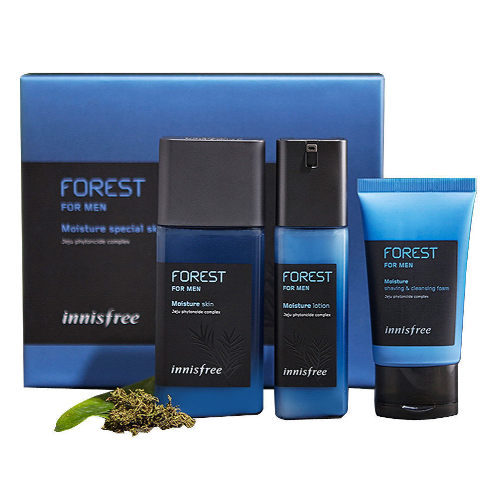 [Innisfree] Forest For Men Moisture Duo Set